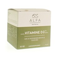 Alfa Vitamine D3 Softgels 90
