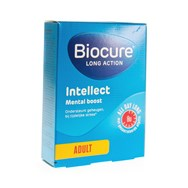 Biocure Long Action Intellect Mental Boost 30 Tabl
