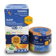 Biolys Honing Good Night 100 G + Thee Promo