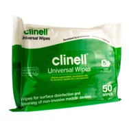 Clinell Universel Wipes 50