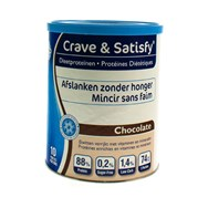 Crave & Satisfy Dieetproteinen Chocola Pot 200G