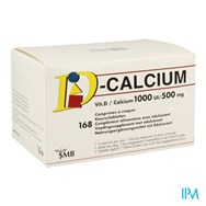 D Calcium 1000Ie 500Mg 168 Kauwtabl