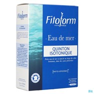 Isotonique Eau De Mer Amp 30X10ml Fitoform