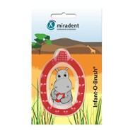 Miradent Infant O Brush Baby Tandenborstel Rood