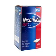 Nicotinell Fruit 2Mg 96 Kauwgommen
