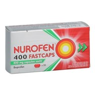 Nurofen 400Mg 20 Fastcaps