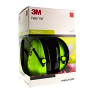 Peltor Hearing Protector Kid Neon Green 1