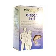 Via Natura Omega 3-6-9 -  40 Softcaps