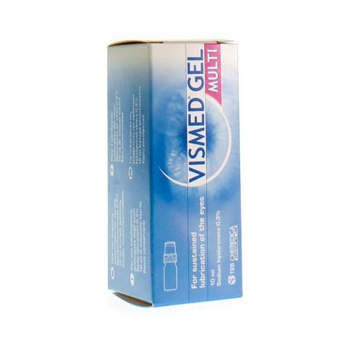 VISMED GEL MULTI LUBRIFIANT OCULAIRE 0,3% FL 10ML | HelpShop